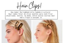 TREND ALERT - Hair clips!
