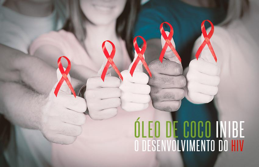 Óleo de coco inibe desenvolvimento do HIV e é um poderoso agente anti-inflamatório que combate cândida, citomegalovírus, clamídia, estreptococos, h.pylori, influenza e estafilococos.
