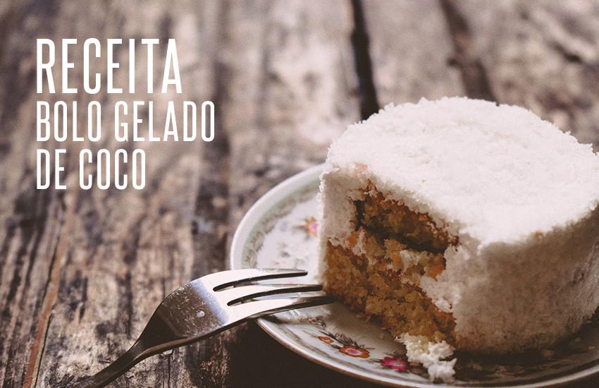 Receita de bolo gelado de coco